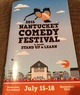 Nantucket Comedy Festival pamphlet